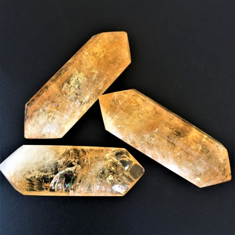 Citrine Double-Terminated Crystals