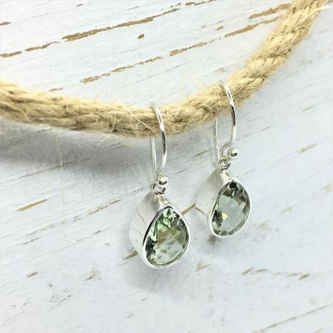 Amethyst Green Earrings