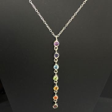 Chakra Stone Necklace