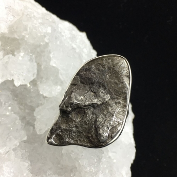 Sikhote Alin Meteorite Ring