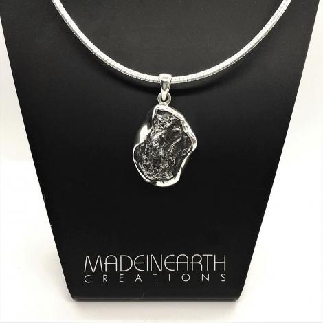 Sikhote Alin Meteorite Pendant