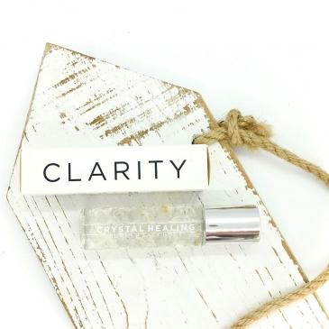 Clear Quartz Crystal Roller